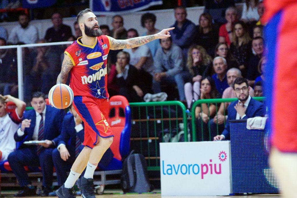 Novipiù e Rieti sono punto-punto nel match del PalaSojourner: 38-36 il punteggio all'intervallo lungo