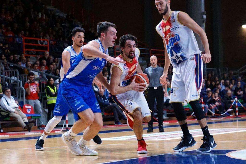 La Novipiù vince in rimonta contro la Fortitudo Agrigento: 66-56 il finale al PalaFerraris