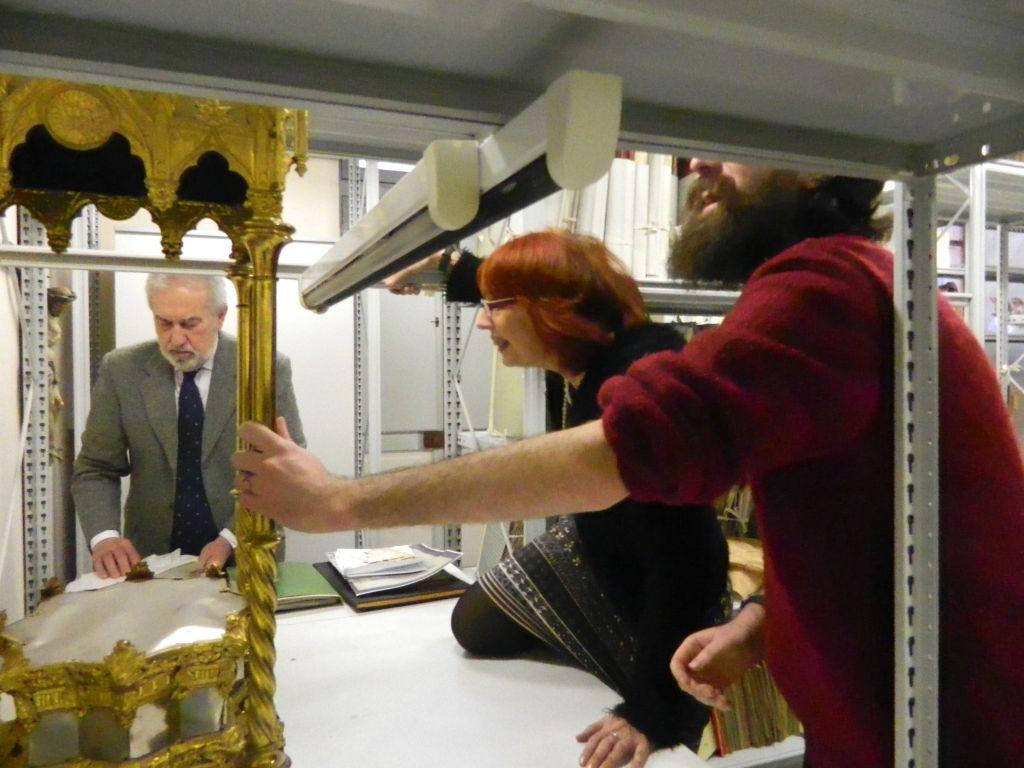 Inaugurazioneufficiale dell'archivio della Casa di Riposo