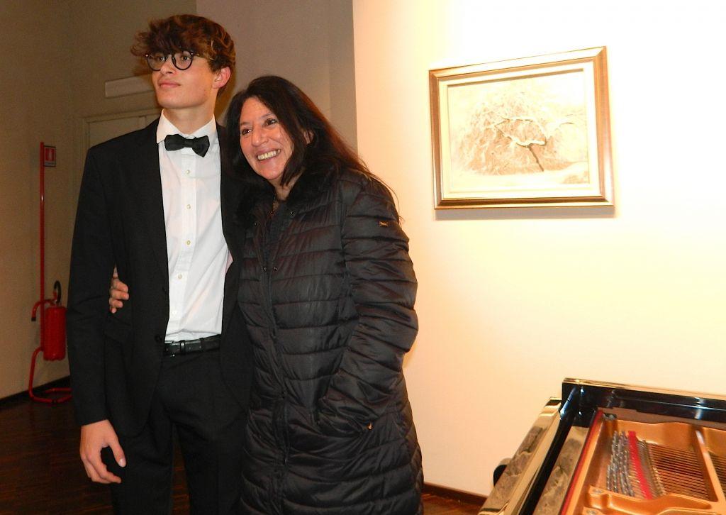 Riccardo Martinelli, sedici anni, grande bravura