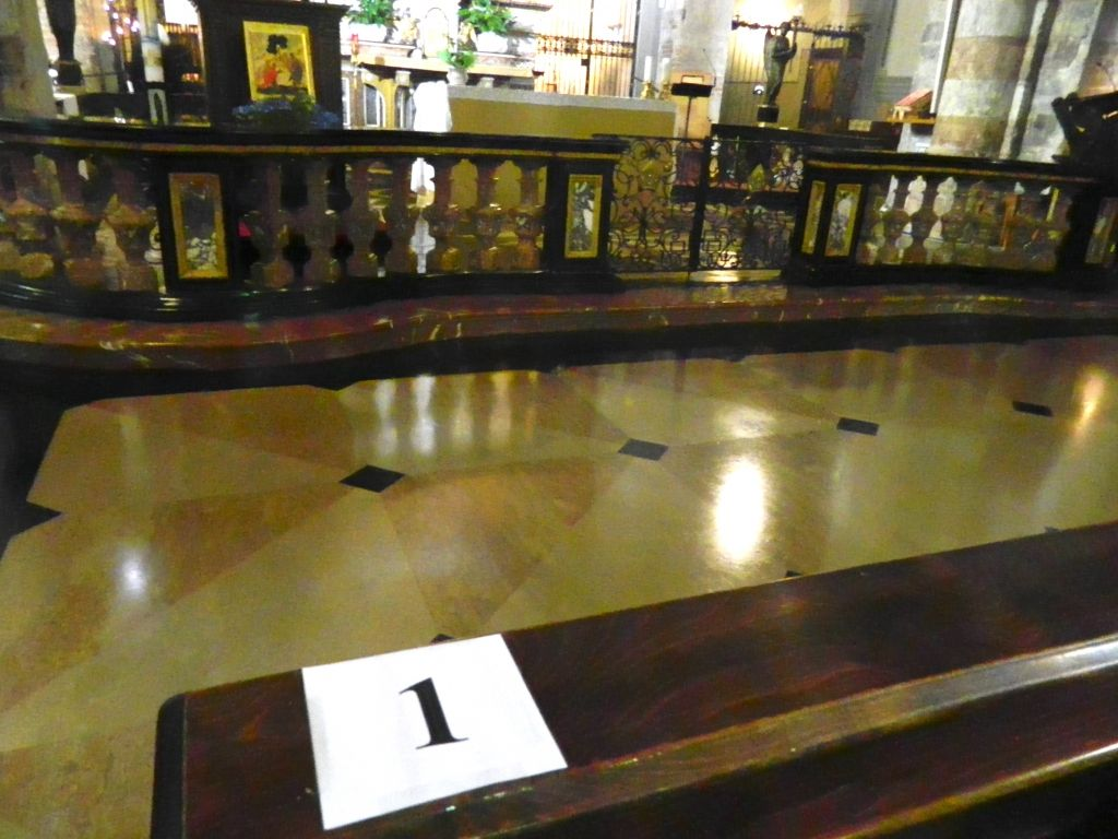 Basilica di Crea: 85 posti ben segnalati