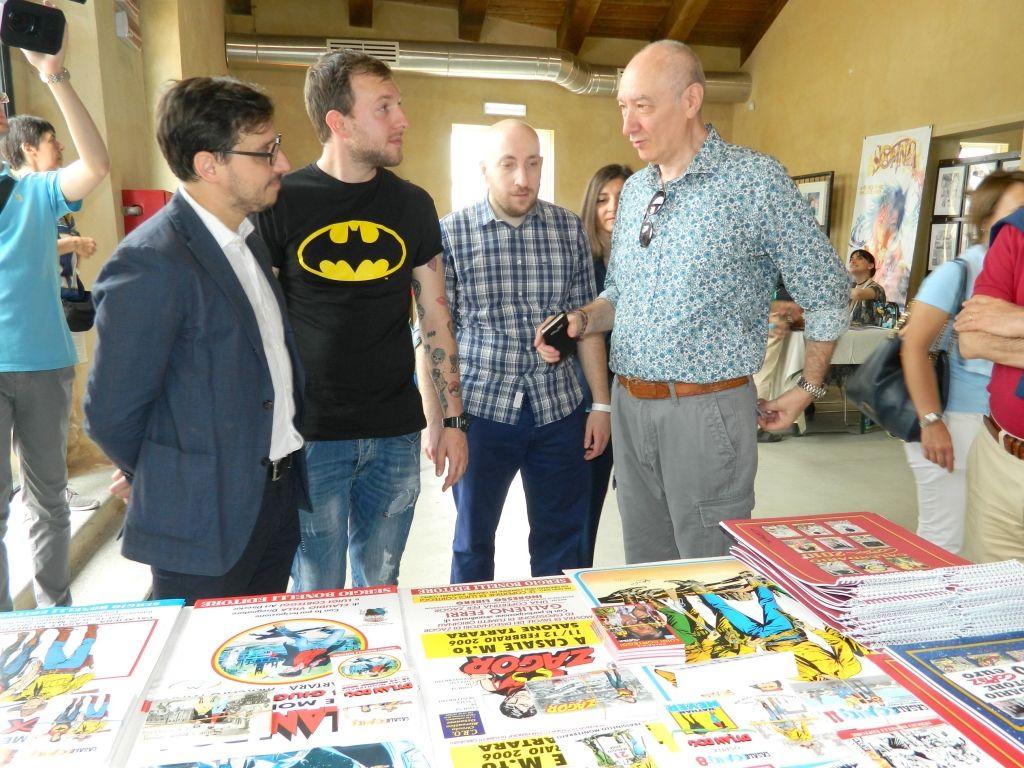 Inaugurato Casale Comics