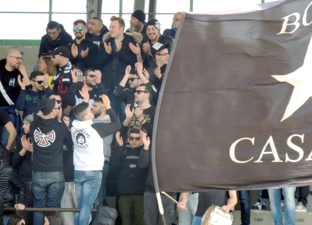 Risultato finale. Casale-Varesina 1-1. I neri restano in Serie D!
