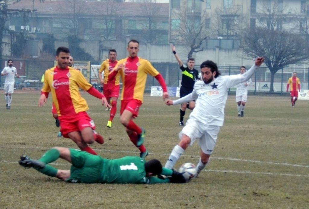 Il gol di Marioli decide il match di Inveruno: i padroni di casa si aggiudicano il recupero della 22ma giornata