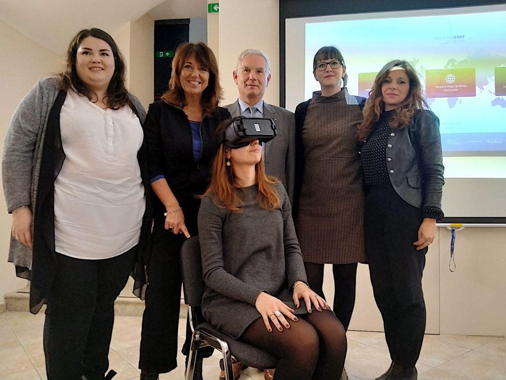 Viaggi anche in realtà virtuale mercoledì alla Stat